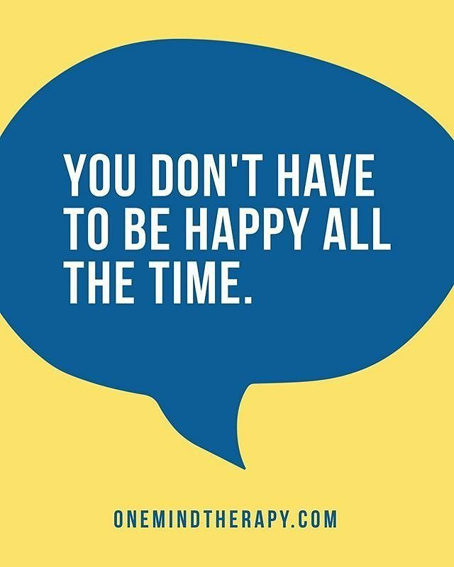 #Repost @onemindtherapy  You don't have to be happy all the time. It is ok to feel sad alone anxious fearful or anything else you might be feeling. http://ift.tt/2xgXppS  #refugerecovery #soberliving #soberlife #earlysobriety #behappybeyou #clinician #counselor #counseling #petaluma #santarosa #cotati #mentalhealth