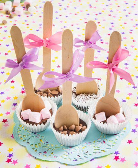 Hot chocolate spoons. http://www.totalgirl.com.au/article/creative-recipes-hot-chocolate-spoons-recipe