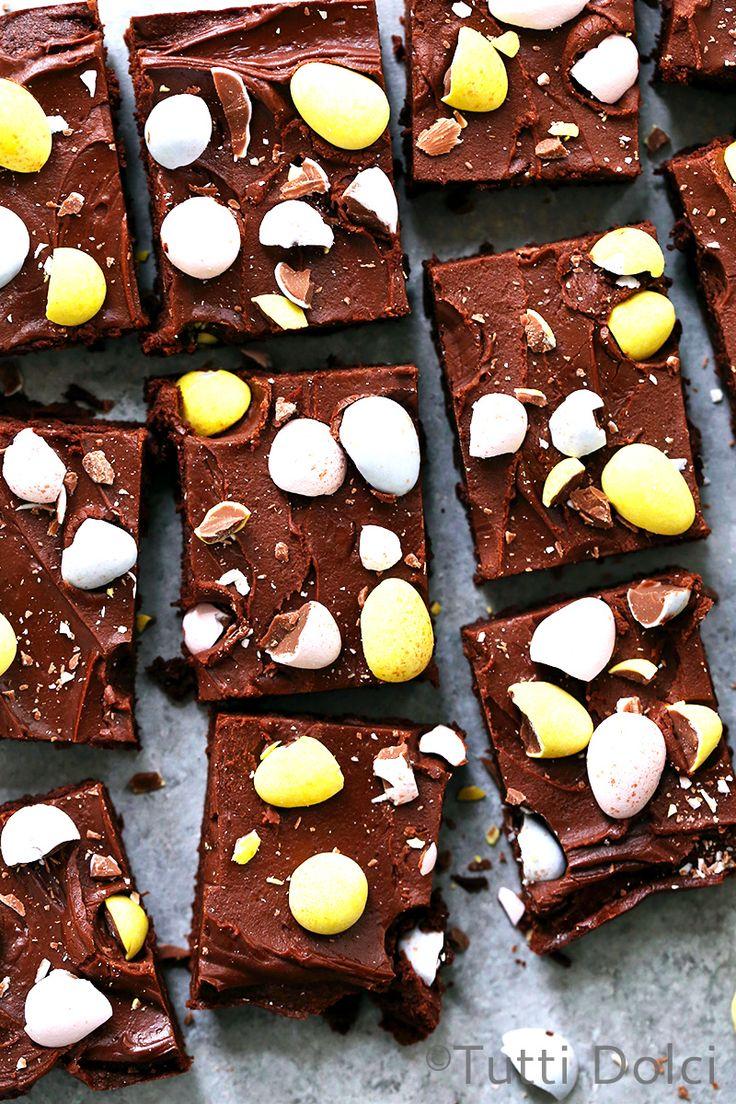 brownies | brownie recipes | cadbury mini eggs