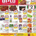 BI-LO Weekly Circular January 13 – 19, 2016. Boneless Chuck Roast on Sale!