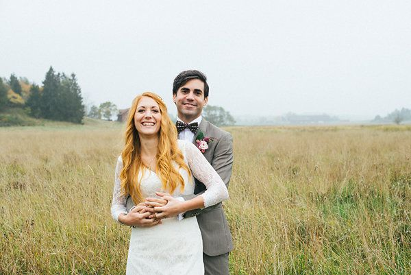 Real Sweden Wedding -  Sanna and Daniel
