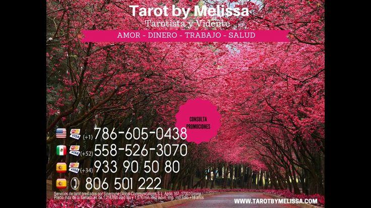 Tarot del amor - Tirada de tarot del amor. Puedes consultar tu tirada llamando al +34 933 90 50 80 o visita nuestra web http://tarotbymelissa.com/