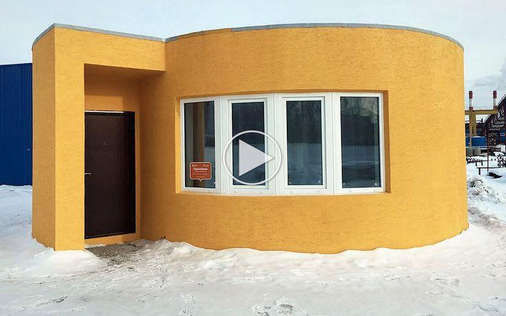 Apis Cor er verdens første 3D-printede hus