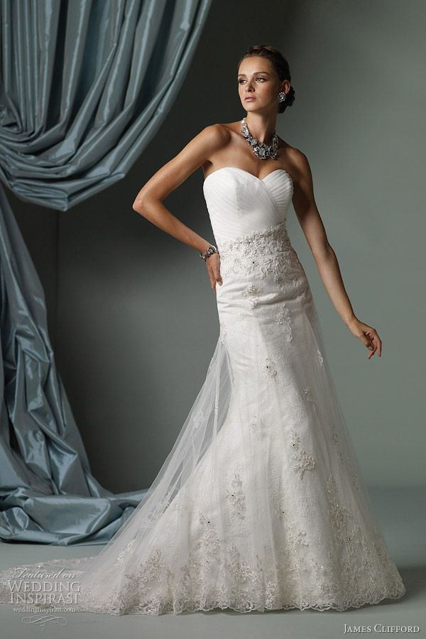 james clifford wedding gowns spring 2012