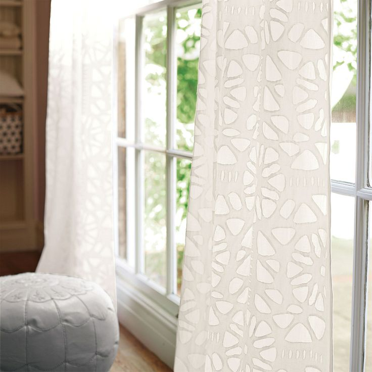 Serena And Lily Cutwork Window Panel
