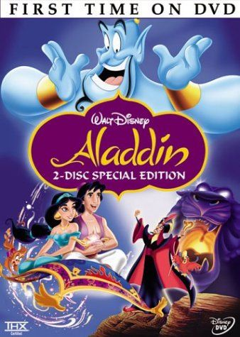 Aladdin (Two-Disc Special Edition) - Aladdin is one of the most spectacular classic Disney film of all time, which became a great hit because of it's great story and stunning graphics.