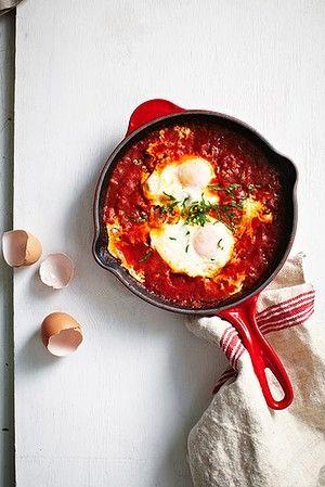 Michelle Bridges' shakshuka.  Looks like a great breakfast idea for me to try.