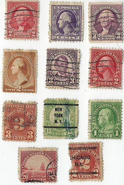 Postage Stamps - United States Stamp Printed Before 1978 | Flickr - Photo Sharing!