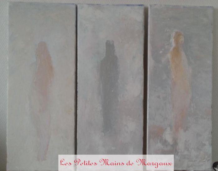 Three women by Margaux FB Oil