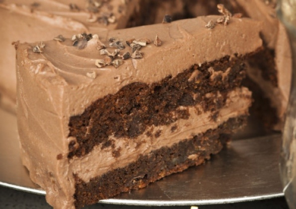 Tom Kitchin's gluten free chocolate cake recipe!