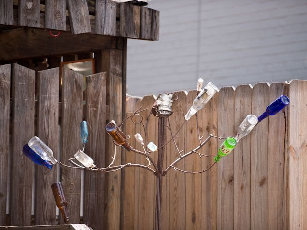 DIYNetwork.com shares why they love Southern-inspired bottle trees for the garden and gives you inspiration for creating your own.