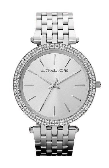 MICHAEL Michael Kors Michael Kors 'Darci' Round Bracelet Watch, 39mm available at #Nordstrom