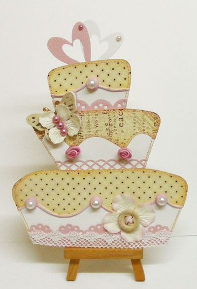 Jo Kill's wedding cake card