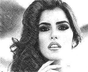 Digital Art - Paulina Vega - Miss Universe 2014 by Rafael Salazar