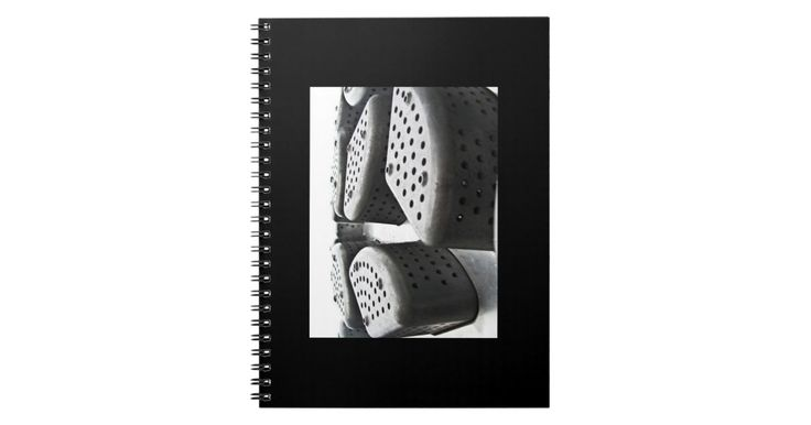 Black and White Themed Notebook