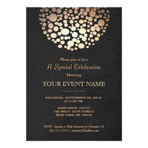 293 best evening wedding invitations images on pinterest evening Buy Evening Wedding Invitations elegant gold circle sphere black linen look formal card evening wedding invitationsformal buy evening wedding invitations