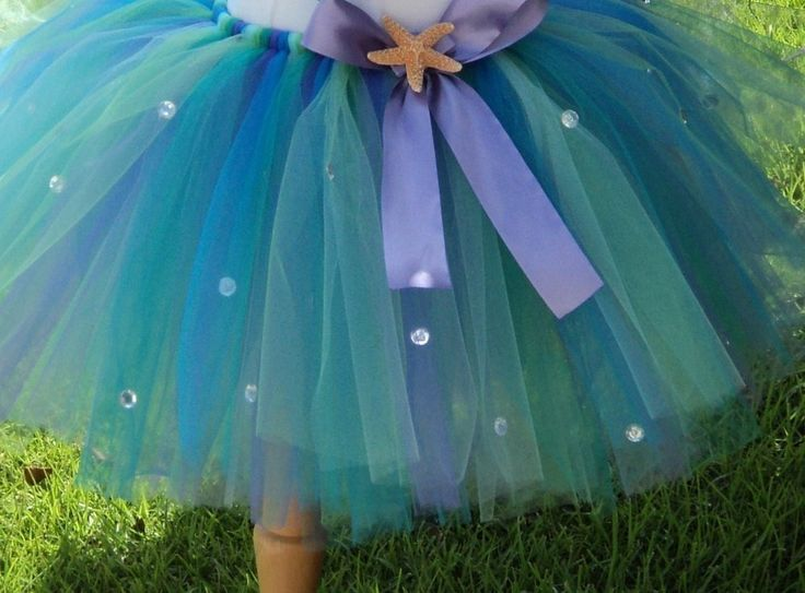 PHOTO OP! PHOTO TBL! AND FOR PARTY OUTFIT TOO! PRETTY SIMPLE TO MAKE! mermaid tutu