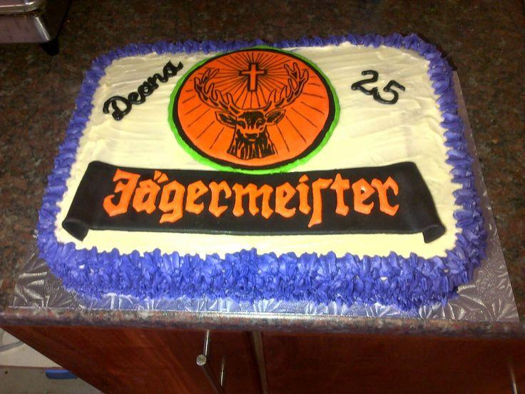 Jagermeister cake