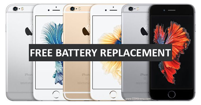 Great opportunity! Get free iPhone Battery replacement service from Apple. See if your iPhone 6s is eligible for a battery replacement, FREE of charge.