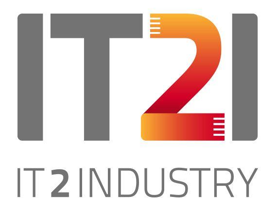Logo der IT2Industry Internationale Fachmesse & Open Conference – © Messe München GmbH