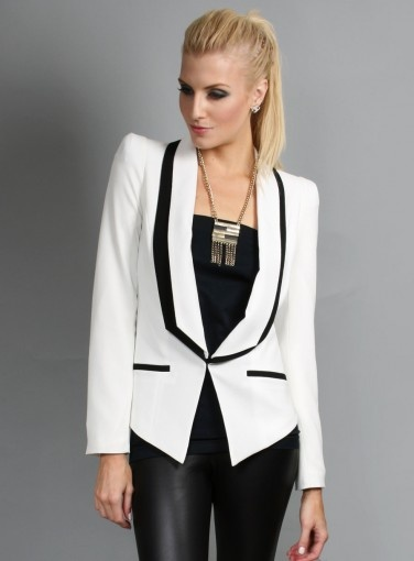 Dakota Monochrome Jacket by Honey & Beau