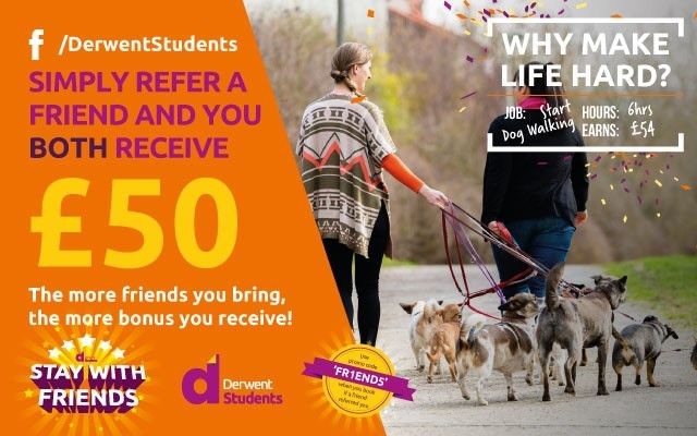 Refer a friend and receive £50 in Amazon vouchers.