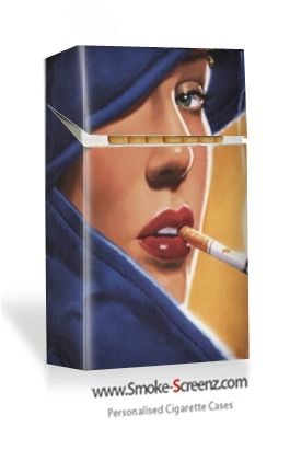Very Chic cigarette case design for the more sophisticated smoker?