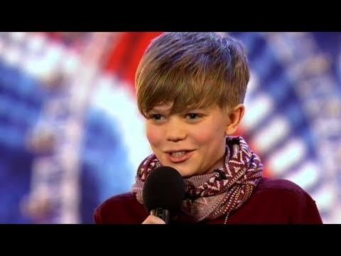 Be prepared to get choked up and get happy tears!! Little Ronan Parke - Britain's Got Talent 2011 Audition.