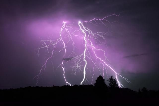 Lightning strikes cause nuclear reactions in the atmosphere