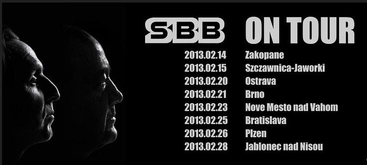 SBB: ON TOUR on February 28th in Jablonec nad Nisou   http://www.eurocentrumjablonec.cz/akce/program-akci/