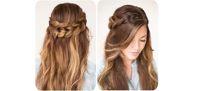 DIY Hairstyles, Wrap Around Braid