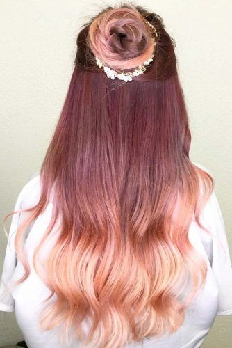 Why And How To Get A Rose Gold Hair Color Nices Hair Rose Gold