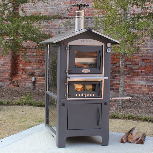 Outdoor Convection Oven Forno Toscano Firenze 80 Wood