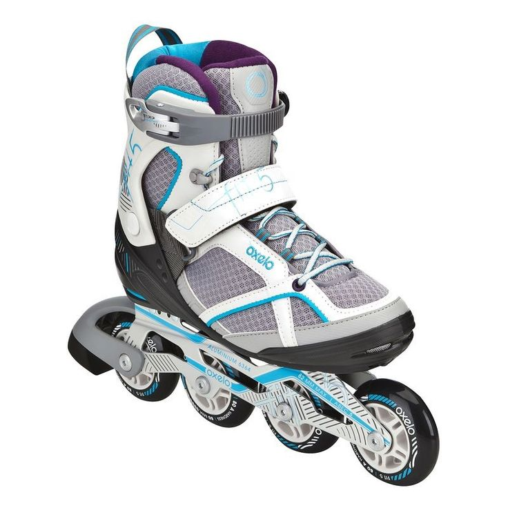 Deporte Roller Patines, Skates, Patinetes - Patines en linea de mujer Oxelo fit5 Oxelo - Patines