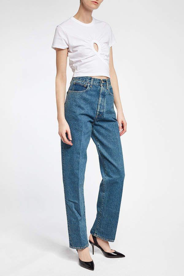 Golden Goose Shannen Wide Leg Jeans