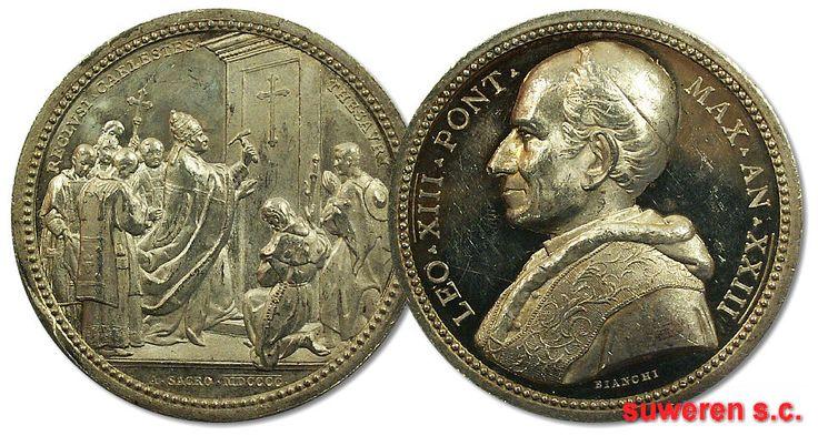 21.as.PAPIESTWO, L.XIII, MEDAL - ROK ŚWIĘTY 1900