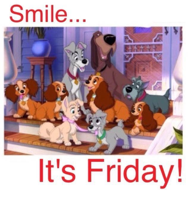 SMILE...( Be Happy and Blessed!) It's Friday!  God Bless U!