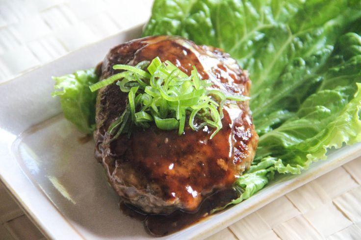 Tofu Hamburger Steak Recipe