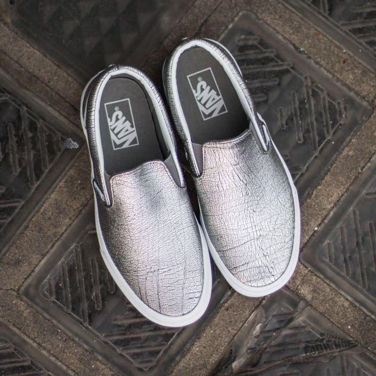 vans slippers femme