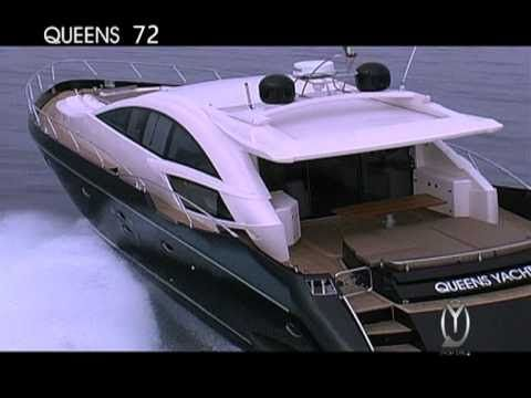 Queens is b(l)ack: la regina e' tornata    Il fascino di un mondo in bianco e nero.  La classe di una Regina che ha rinnovato il suo stile affidandosi all'eleganza di un abito scuro abbinato a dettagli luminosi e innovativi.  Il Nuovo Yacht Queens '72 sfila per voi: preparatevi ad ammirarla    www.queensyachts.com