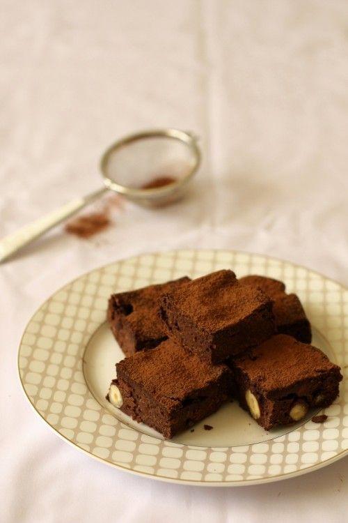 Kókuszvajas paleo brownie