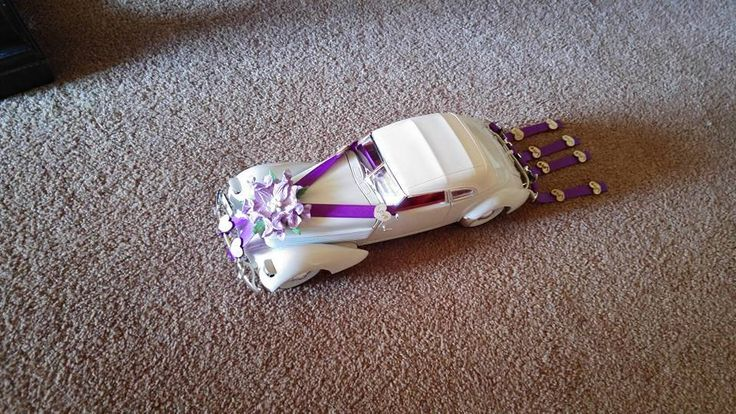 Cute Little Car to go with Fake Cake.....