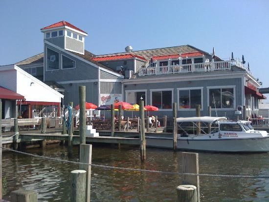 Harris Crab House Seafood Restaurant Kent Narrows Way North Grasonville Md 21638 410