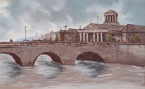 Tom Cullen ''Four Courts'' #Dublin #irishart