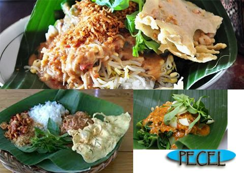 PECEL  is a traditional Indonesian salad from Java, consisting of a mixed vegetables in peanut sauce dressing, usually served with steamed rice or sometimes with lontong or ketupat compressed rice cake.  Wanna Try ?  Welcome to Indonesia  Phone +6221 3907576 Email inbound@astrindotour.co.id Inbound & Domestic Tour Astrindo Travel Services