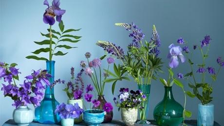Plocka in trädgårdens blommor - Skonahem