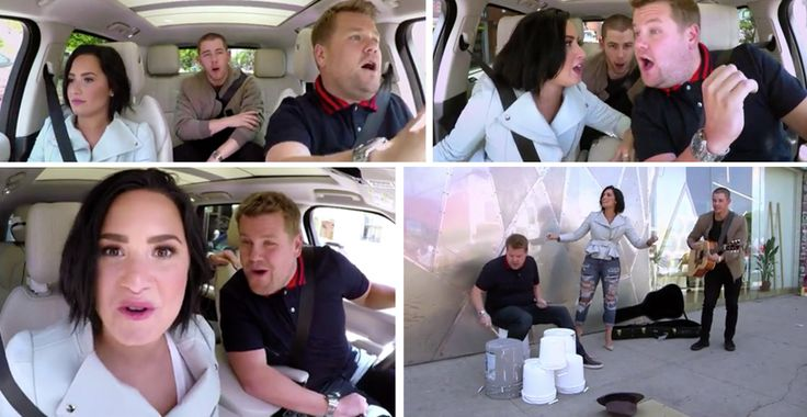 James Corden's Carpool Karaokes have been a total blast, and today's carpool karaoke with Demi Lovato and Nick Jonas has been no exception. James gets a hand from his friends Demi Lovato and Nick Jonas for a ride to work, but not before the trio s...