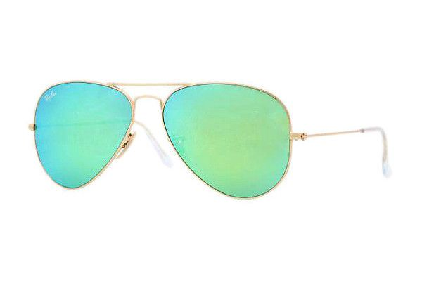 Ray-Ban RB3025 112/19 cry.green mirror multil.greengold