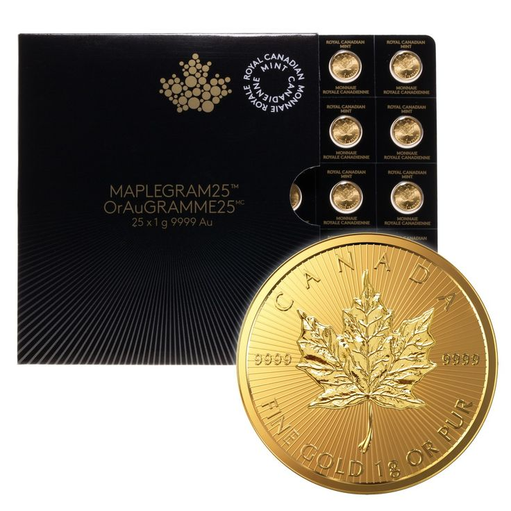 2016 CANADIAN GOLD MAPLE LEAF 1 GRAM .9999