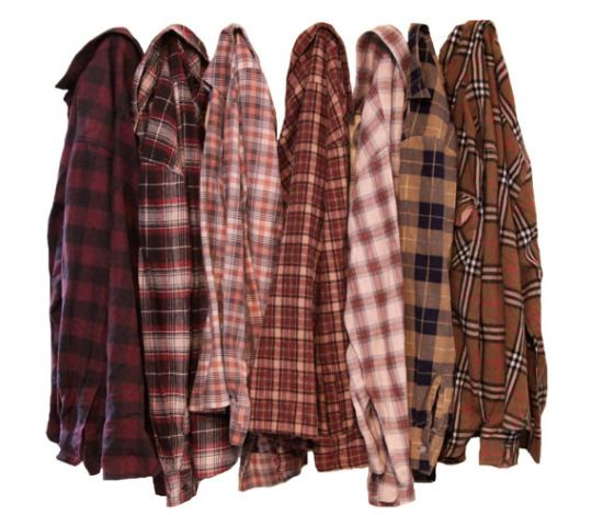 Vintage Flannel Shirts from TheBeardedBee on Etsy